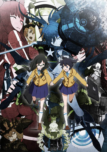 [re-up][Clip-Crazyland] Black★Rock Shooter (2012) HQ