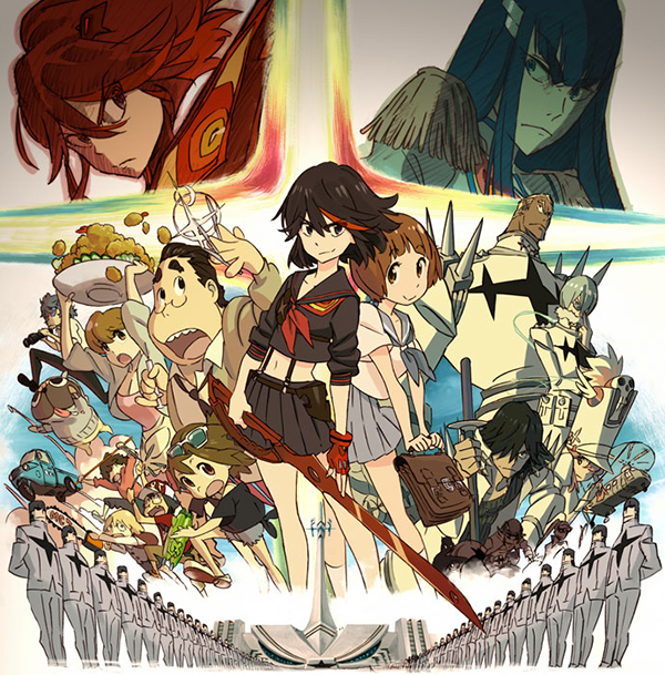 Kill la Kill – [25 Eps][TVs][Completed]