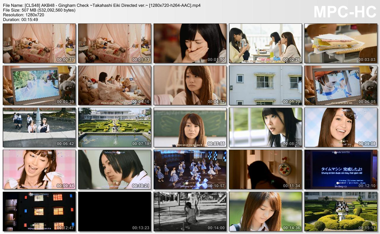 [CLS48] AKB48 - Gingham Check ~Takahashi Eiki Directed ver.~ [1280x720-h264-AAC].mp4_thumbs_[2013.12.03_14.18.11]