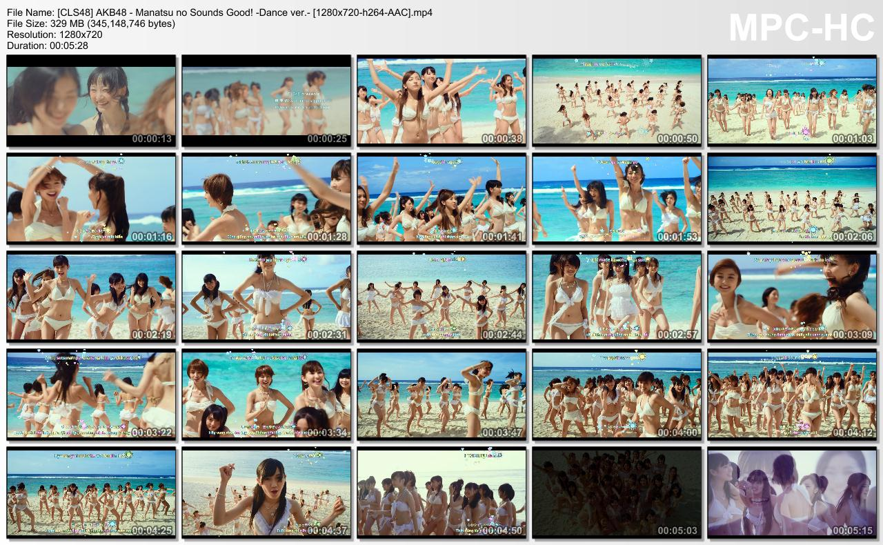 [CLS48] AKB48 - Manatsu no Sounds Good! -Dance ver.- [1280x720-h264-AAC].mp4_thumbs_[2013.12.03_14.07.11]