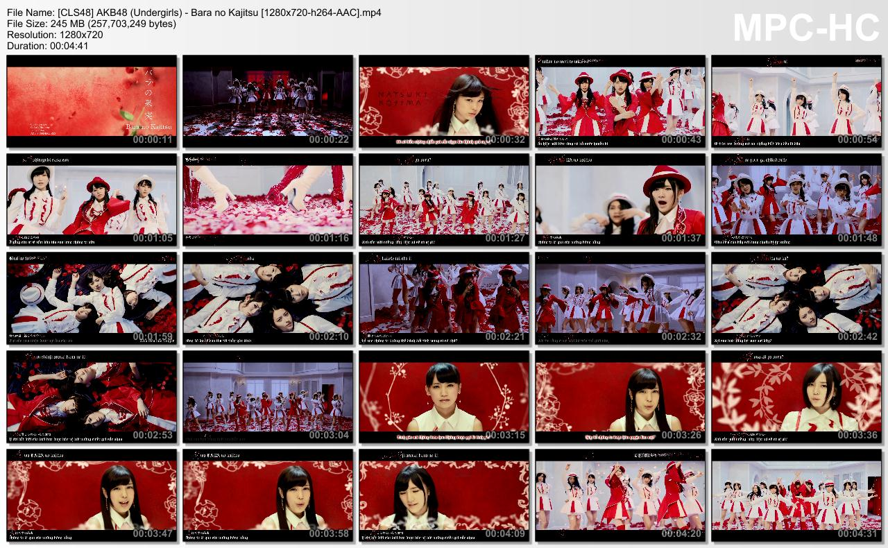 [CLS48] AKB48 (Undergirls) - Bara no Kajitsu [1280x720-h264-AAC].mp4_thumbs_[2013.12.20_16.33.50]