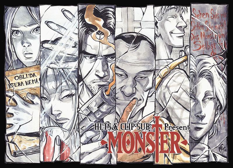 [HLTS – Clip-sub] Monster – 11 & 12 [720p]